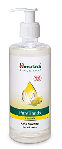Himalaya Pure Hands | Hand Sanitizer - 500 ml (Lemon)