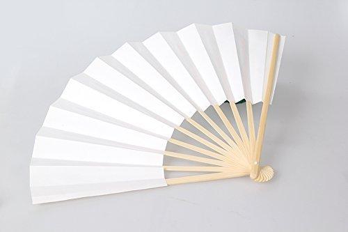 紙扇子 白無地 白扇 せんす 9寸 長さ27cm /Z331