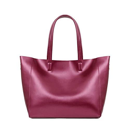 Mode koe leren moeder tas grote handtas dames boodschappentas reistas dames handtas schoudertas Messenger tas