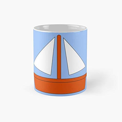 Simpsons Sailboat - Taza clásica con el mejor regalo, tazas de café divertidas, 11 onzas