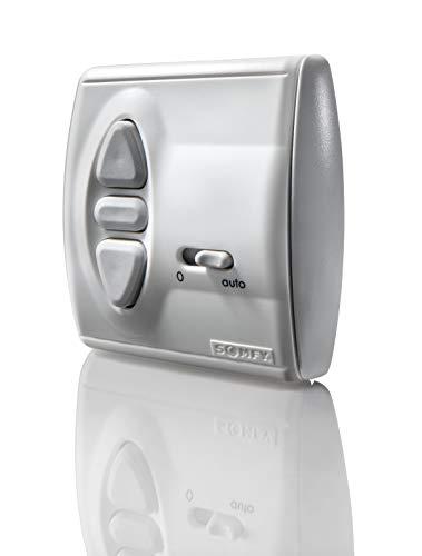 Somfy 2400850 Centralis Uno , pulsador para persianas con señal radio, Controla tus persianas con cualquier mando RTS