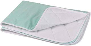Ultra Soft 4-Layer Opulence Premium Comfort Washable Underpad Size 18x24 Pack of 2 Color Green