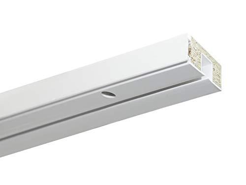 Gardinia Vorhangschiene, Kunststoff, weiß, 150
