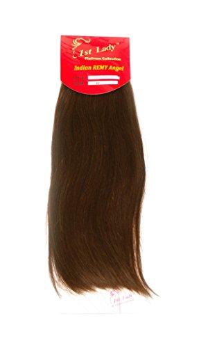 35,6 cm Premium indien Ange 100% Remy Extension de cheveux humains tissage 113 g # S2 (# 6)