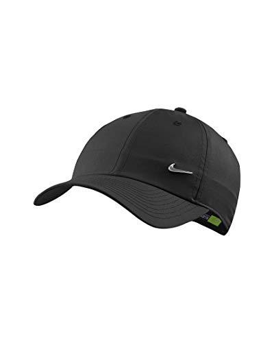 Nike Heritage 86 Metal Swoosh Cap (one Size, Black)