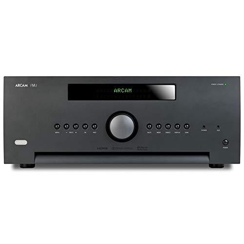 Arcam AVR390 80W 7.1Kanäle Stereo 3D Schwarz - AV-Receiver (80 W, 7.1 Kanäle, Stereo, 110 dB, 20 - 20000 Hz, 3.5mm)