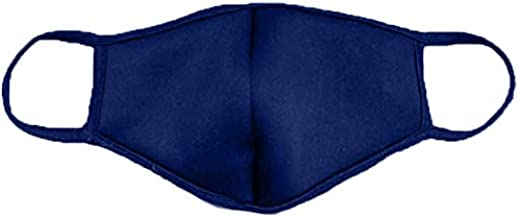 product image for DewAmor Reusable, Washable Neoprene/Cotton Balaclavas, Face Mask Protection from Dust, Pollen, Pet Dander and Other Airborne Irritants (Navy Blue) (Made in USA)