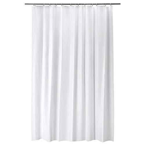 Ikea Bjarsen Shower Curtain White 71x79 604.437.02