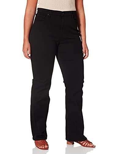 Levi's Plus Size 725 Pl HR Bootcut Jeans, Black Sheep, 14 L para Mujer