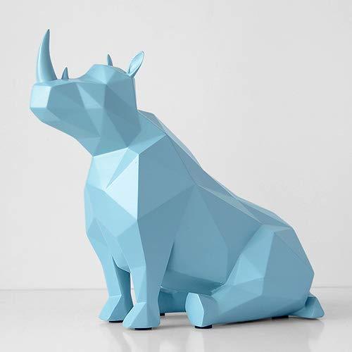 JIAXIN Esculturas Decorativas Estatuilla Animal Europeo Creativo Resina Regalos Estatua Decoración De...