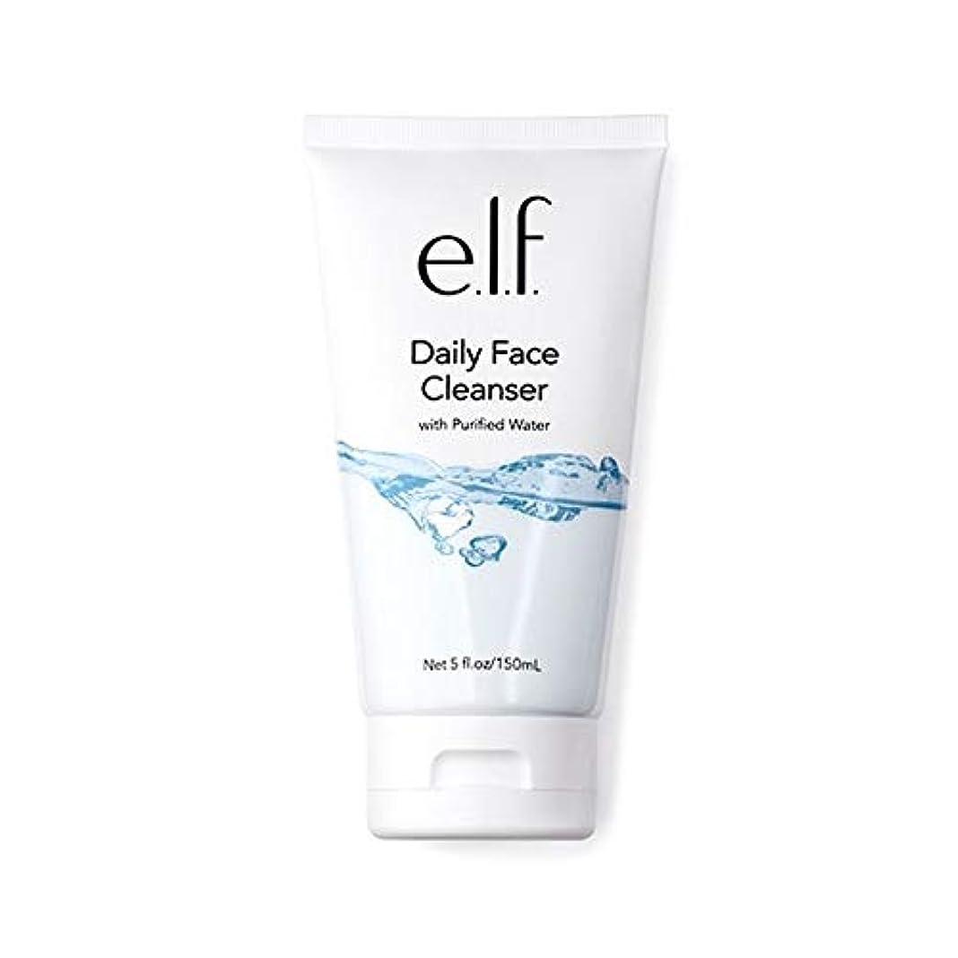 相互接続港ゴネリル[Elf ] エルフ。毎日顔クレンザー150ミリリットル - e.l.f. Daily Face Cleanser 150ml [並行輸入品]