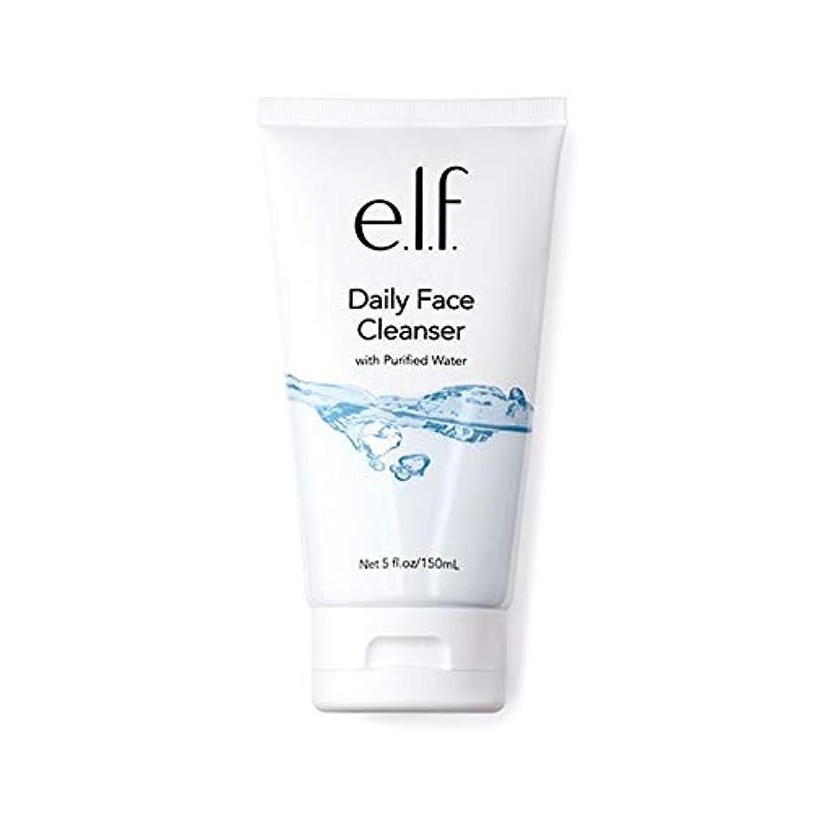 鉱石究極の必須[Elf ] エルフ。毎日顔クレンザー150ミリリットル - e.l.f. Daily Face Cleanser 150ml [並行輸入品]