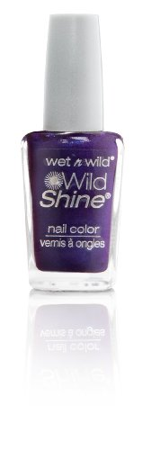 wet n wild Shine Nail Color Eggplant Frost, 1er Pack (1 x 13 ml)