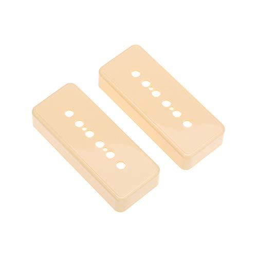 Musiclily Pro Plástico 48mm P90 Soapbar Cubiertas Pastillas para Guitarra Electrica Import...