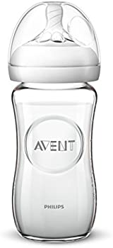 Philips Avent Natural Glass Baby Bottle 8 Oz