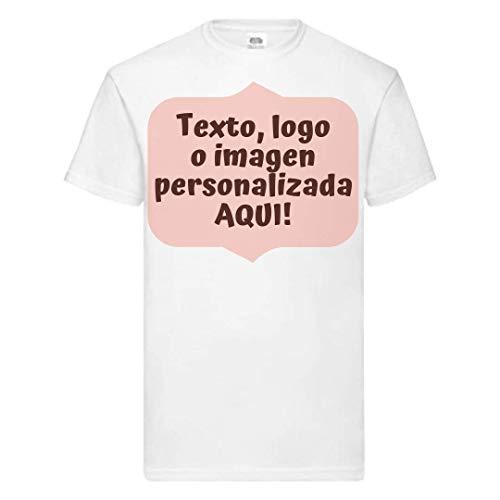 Camiseta Personalizada con Foto - Blanco, 9-11 años