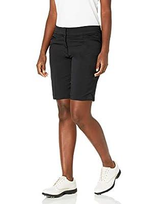 """PGA TOUR Women's Motionflux 19"""" Tech Short, Caviar, 12"""