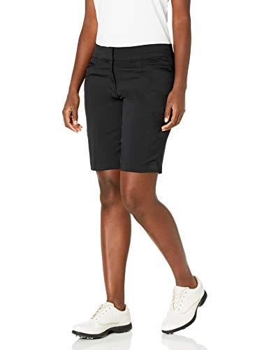 "PGA TOUR Women's 19"" Golf Short with Comfort Stretch Waistband, Caviar, 14"