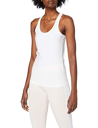 Urban Classics Damen Ladies Jersey Tanktop Sport Tank Top, Weiß (White 220), Small