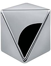Alessi AGO01 Roost kubek na jajko aluminium polerowane lustro, srebrny, 4,5 x 4,5 x 4,5 cm