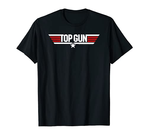 Top Gun White Classic Logo T-Shirt