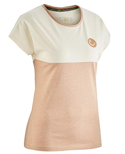 EDELRID Angama T-Shirt Femme, Ecru, s