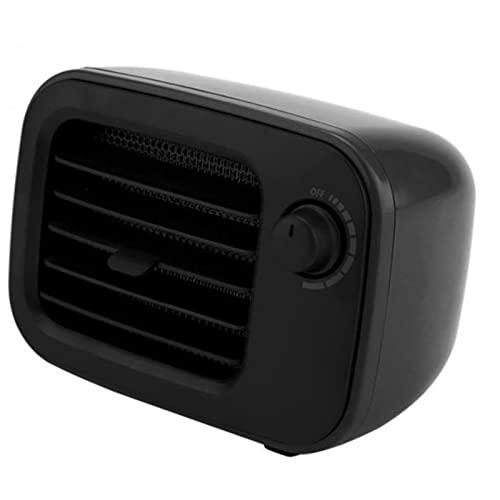 WGLL Calentadores eléctricos Ventilador,Mini oficina de escritorio Handy Fast Power Guardar calentador,calentador inteligente portátil for el invierno PTC Calefacción de cerámica,Dormitorio,Sala de es