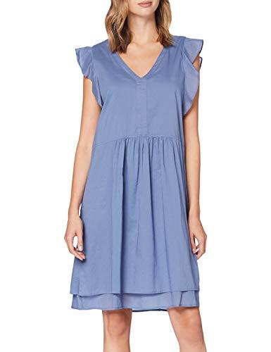 Marc O´Polo Denim Damen 046137821335 Kleid, Blau (Blue Fantasy 851), Large (Herstellergröße: L)