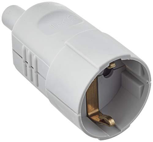 Bachmann Kupplung Schutzkontakt PVC, 912971, Grau