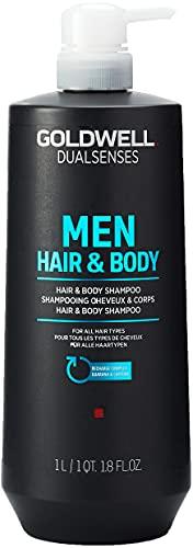 Goldwell Goldw. DLS Men Hair & Body Shampoo, 1000 ml
