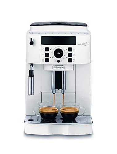 De'Longhi Magnifica S ECAM21.110.W Macchina da Caffè Automatica per Espresso e Cappuccino, Caffè in Grani o in Polvere, 1450 W, Bianco