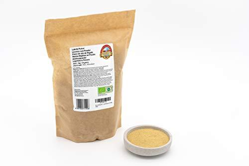 Polvo de raíz de Regaliz ecológico 1 kg orgánica silvestr