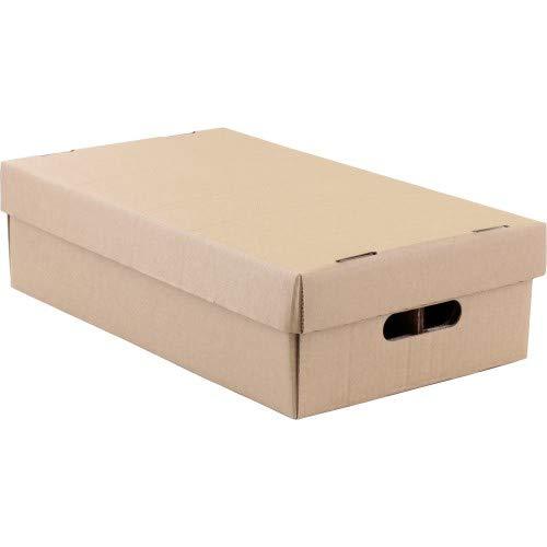 CD Pappbox Lagerkiste für 100-120 CD's (Faltkarton)