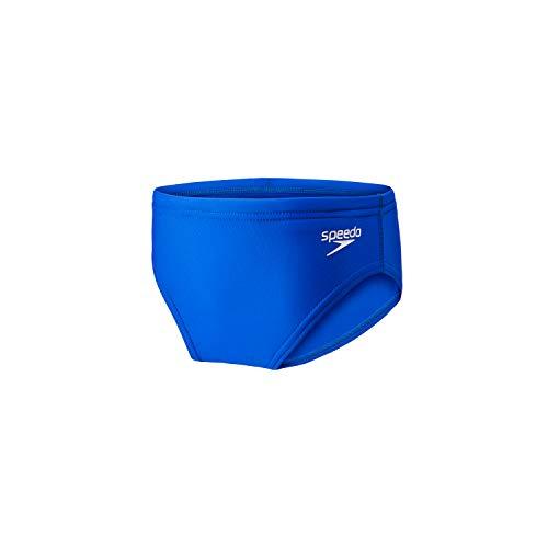 Speedo Boy's Swimsuit Brief PowerFlex Eco Solid Youth,New Sapphire,22
