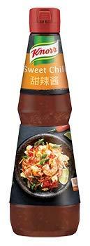 Salsa Agridulce- Knorr Salsa Sweet Chili botella 1L - Salsa Agridulce, un Toque Picante