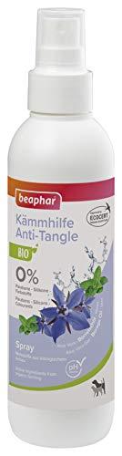 beaphar Bio Kämmhilfe Spray für Hunde und Katzen, hilft verfilzte Stellen im Fell zu lösen, 200 ml