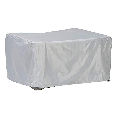 Loungetisch Abdeckung/Schutzhülle für Gartenmöbel - Premium Plus Leicht (100 x 100 x 45 cm) wasserdicht, Winterfest, atmungsaktiv - Abdeckplane für Gartentisch/Ultraleicht/UV- & Frostbeständig