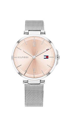Tommy Hilfiger Dames Analoog Quartz Horloge met RVS Band 1782206