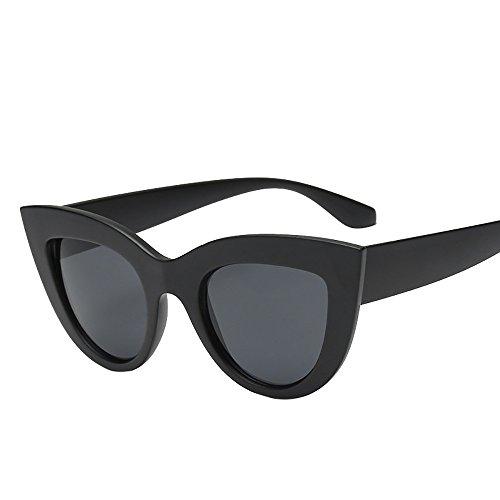 Mujeres Vintage Cat Eye Sunglasses Retro Gafas Moda Damas Casuales Al Aire Libre Gafas De Sol Vogue