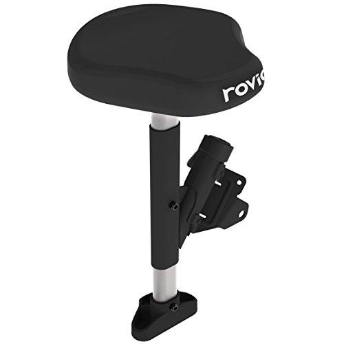 Rovic RV2L - Asiento Unisex para Carrito de bebé, Talla única, Color Negro