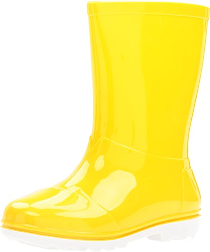 TOMS Yellow PVC Youth Rain Boots 10006289 (Size: 3D)