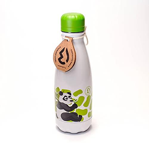 TRITAN i biberon per bambini borraccia bottiglia 350 ML (PANDA)