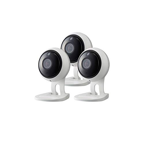 Samsung Wisenet SNH-V6431BN SmartCam 1080p Full HD Wi-Fi Indoor IP Camera Three Pack