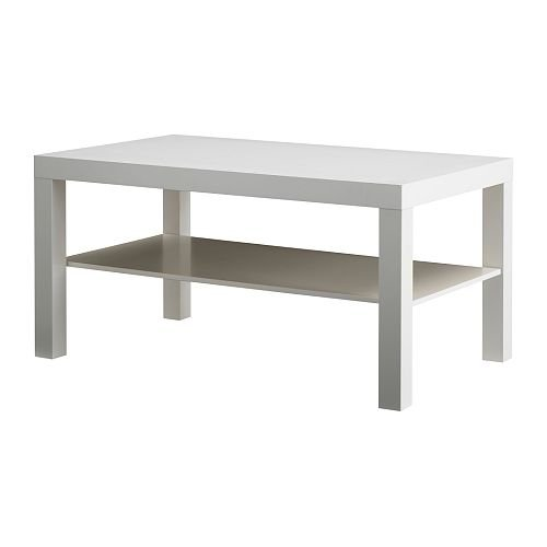 Ikea LACK - Coffee table, white - 90x55
