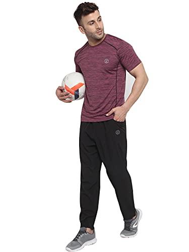 CHKOKKO Men Half Sleeves Summer Sports Dryfit Track suit