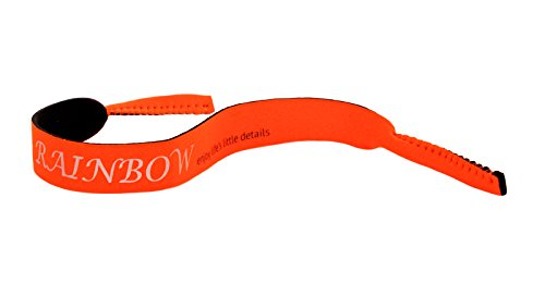 rainbow safety rainbow safety Neopren Schwimmfähig Brillenband Sport Brillenkordel Wassersport Segeln Angeln-Sportband RR01 Orange