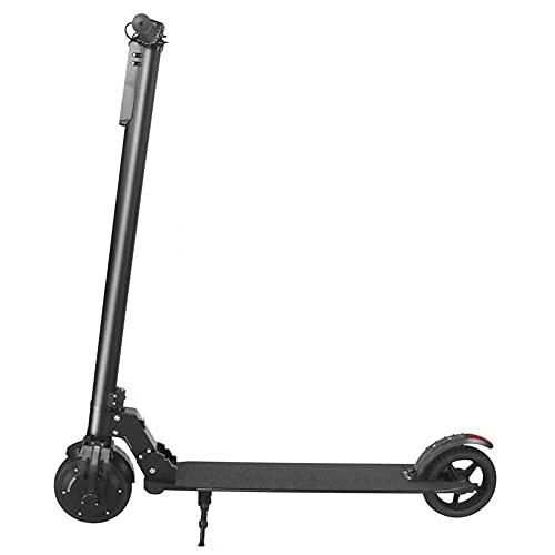 Patinete eléctrico para adultos con motor de 350 W – Patinete eléctrico rápido de 20 km/h, 3 velocidades, faro LED para adultos, niños y adolescentes, 25 km de largo