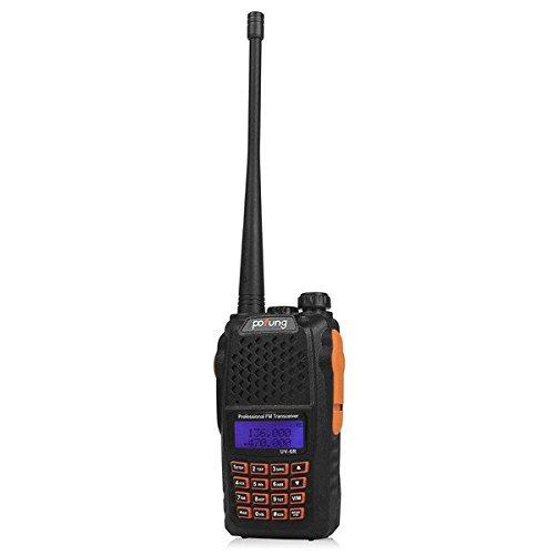 PhilMat Baofeng uv - 6r ricetrasmettitore portatile walkie talkie radio bidirezionale 128CH vhf dual band gestita