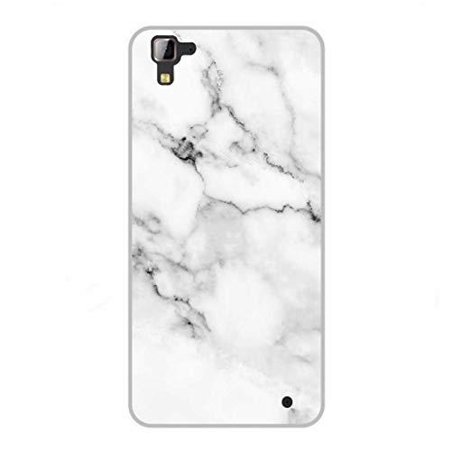 Todo Phone Store Funda Personalizada Diseño Impresion UV LED Silicona Dibujo TPU Gel [Texturas 040] para HISENSE C30 Rock