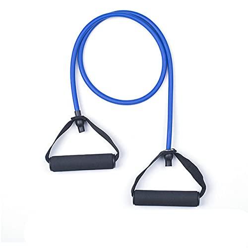 Bandas de Resistencia a la Aptitud de 120 cm, Equipo de Gimnasio, Bandas elásticas para Yoga, Cuerda de tracción, Entrenamiento físico, Entrenamiento en casa, 5 Niveles